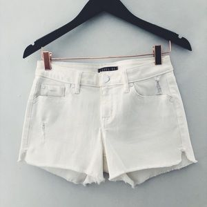 Anthropologie White Denim Shorts sz27. BRAND NEW!